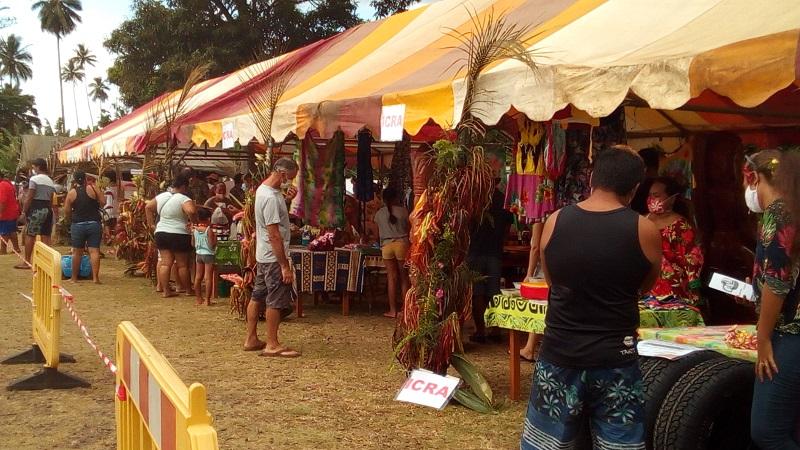 Succès pour l'expo-vente de Atuona