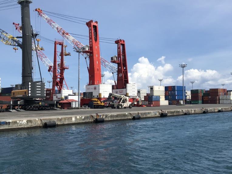 1,5 kilo d'ice saisi dans un conteneur au port de Papeete