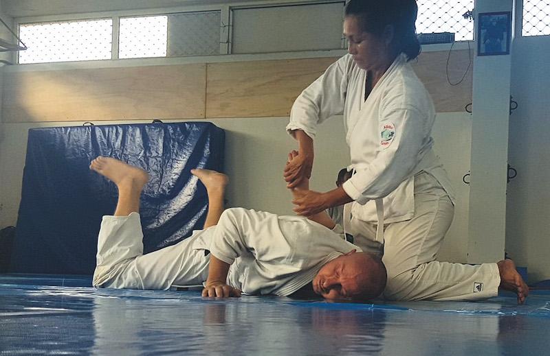 L'aïkido retrouve le dojo de Afareaitu