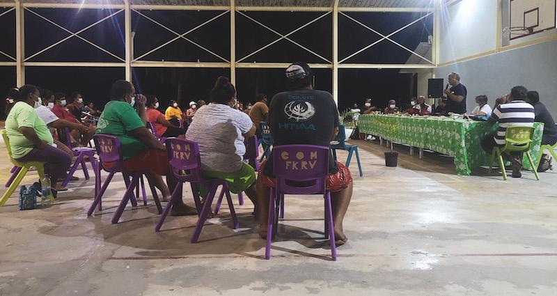 La Direction de l'agriculture fait le point à Fakarava