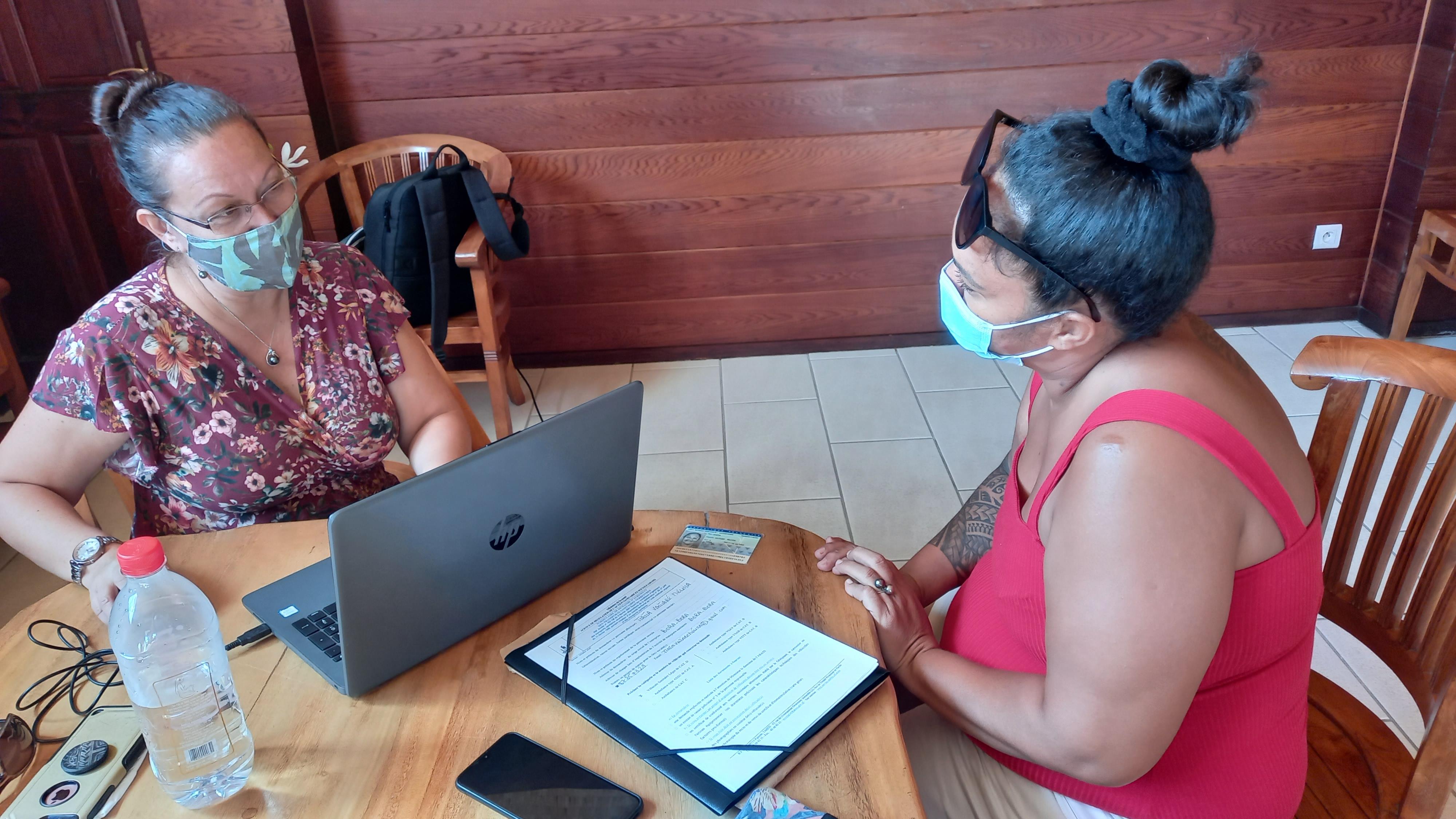 La Sofidep au contact des entreprises de Bora Bora