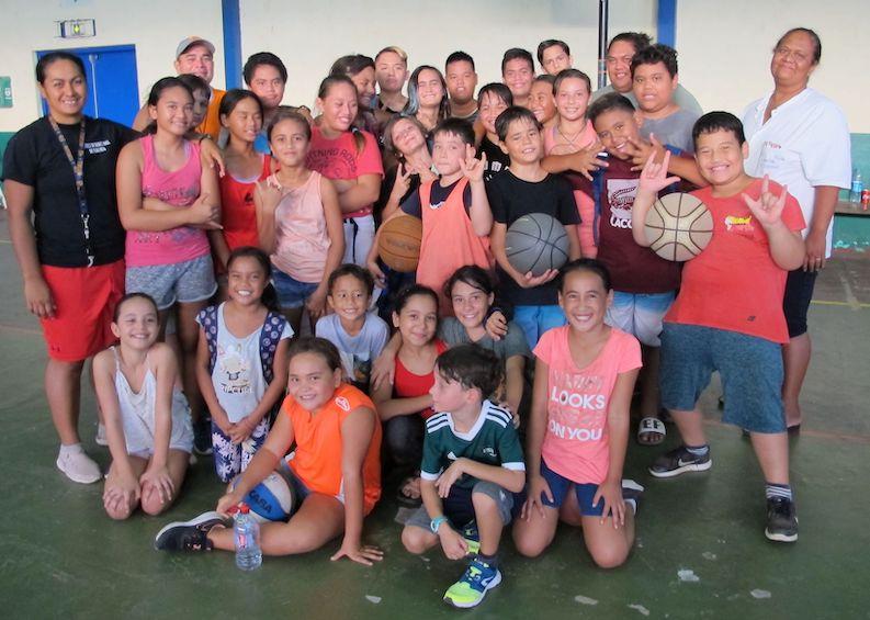 Le district de basketball de Nuku Hiva compte à présent une soixantaine de jeunes joueurs.