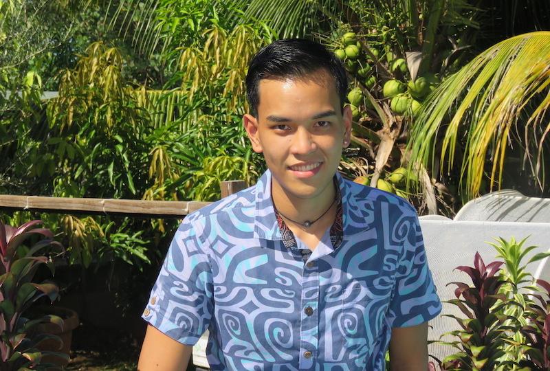 Rencontre avec Karl Chung-Tan, Mister Chic Tahiti