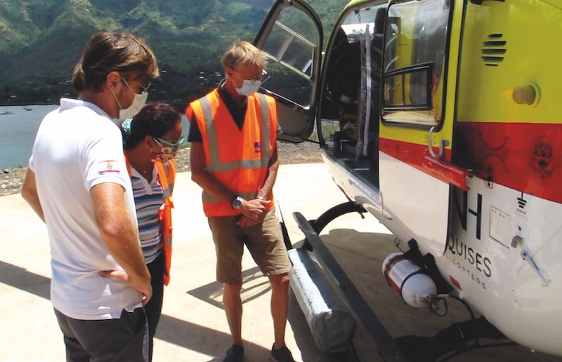 Un contrôle inopiné au sol a été effectué sur un aéronef, parallèlement à l'audit.