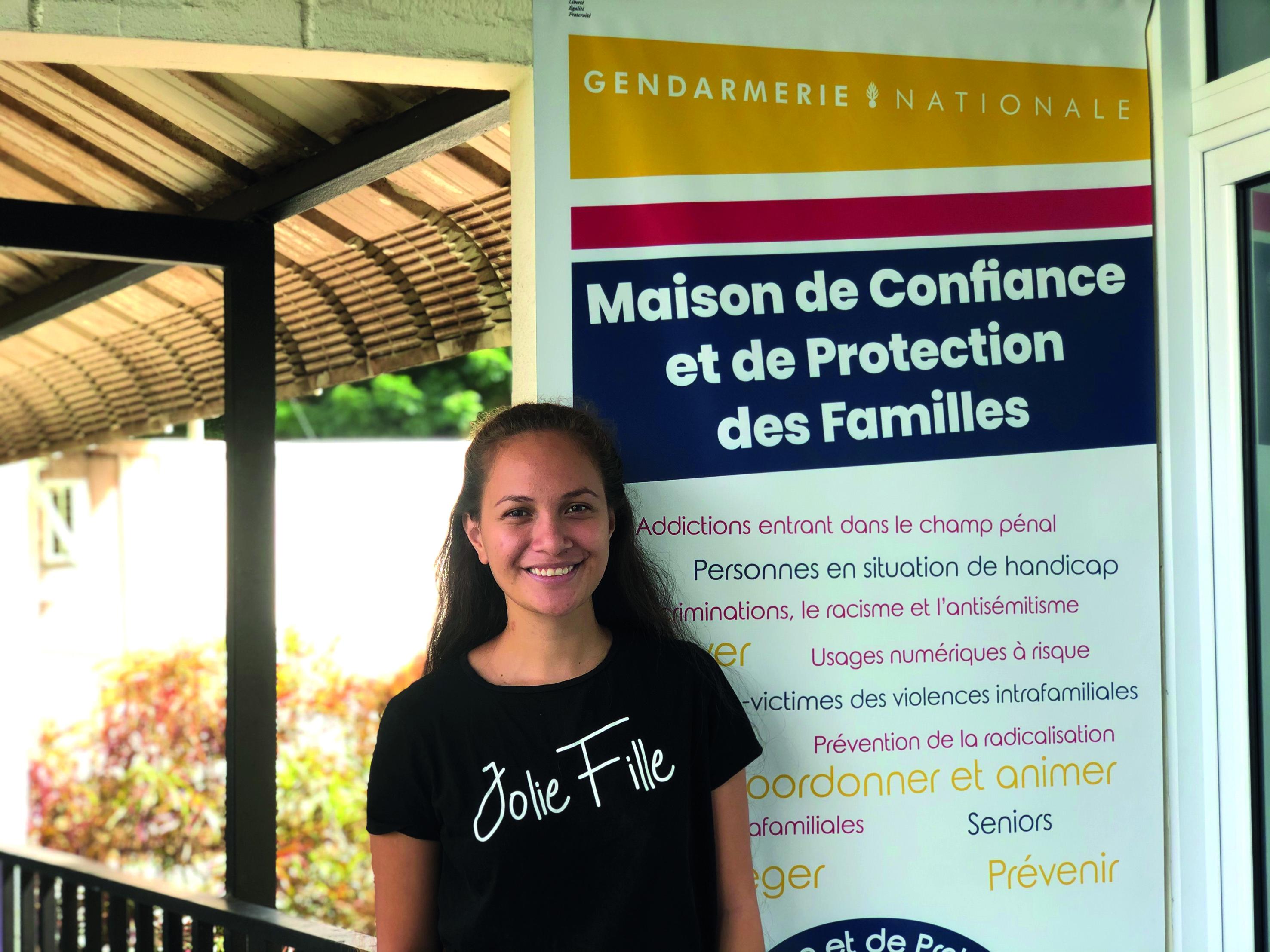 Laetitia, Marquisienne, étudiante et engagée à la MCPF
