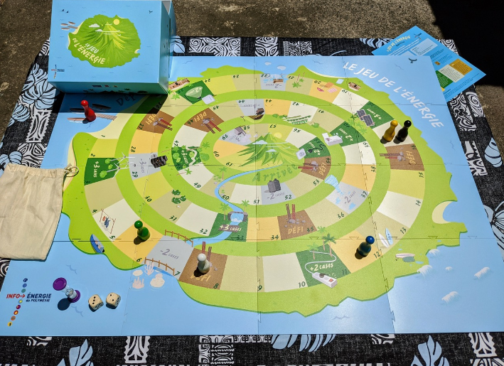 Un « jeu de l'énergie » pour sensibiliser les élèves du fenua