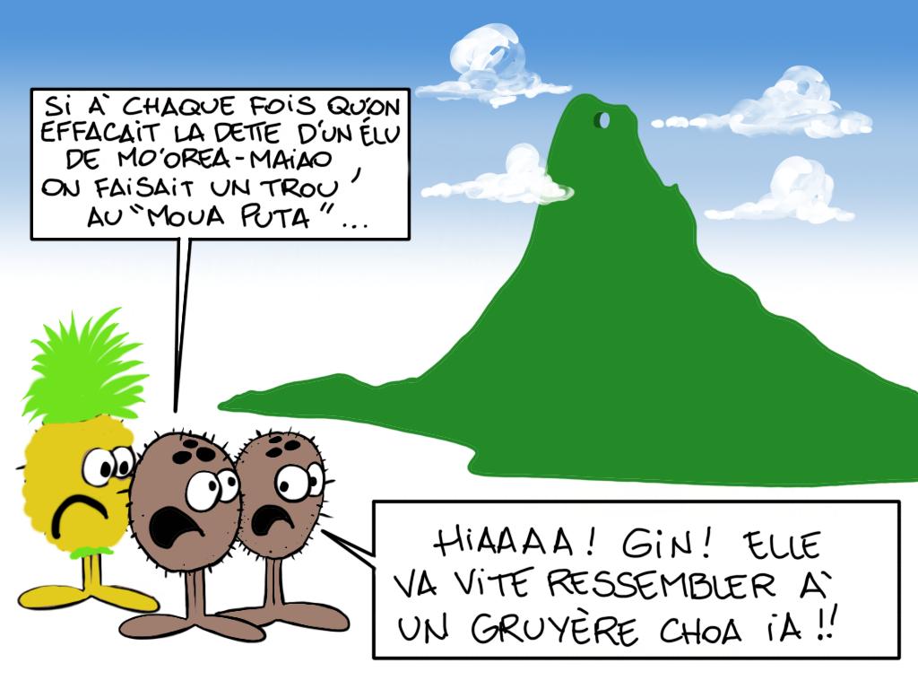 """""""Mou'a gruyère"""", par Munoz"""