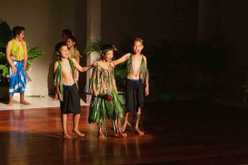 Concours de tapatapa au CSP de Hakahau