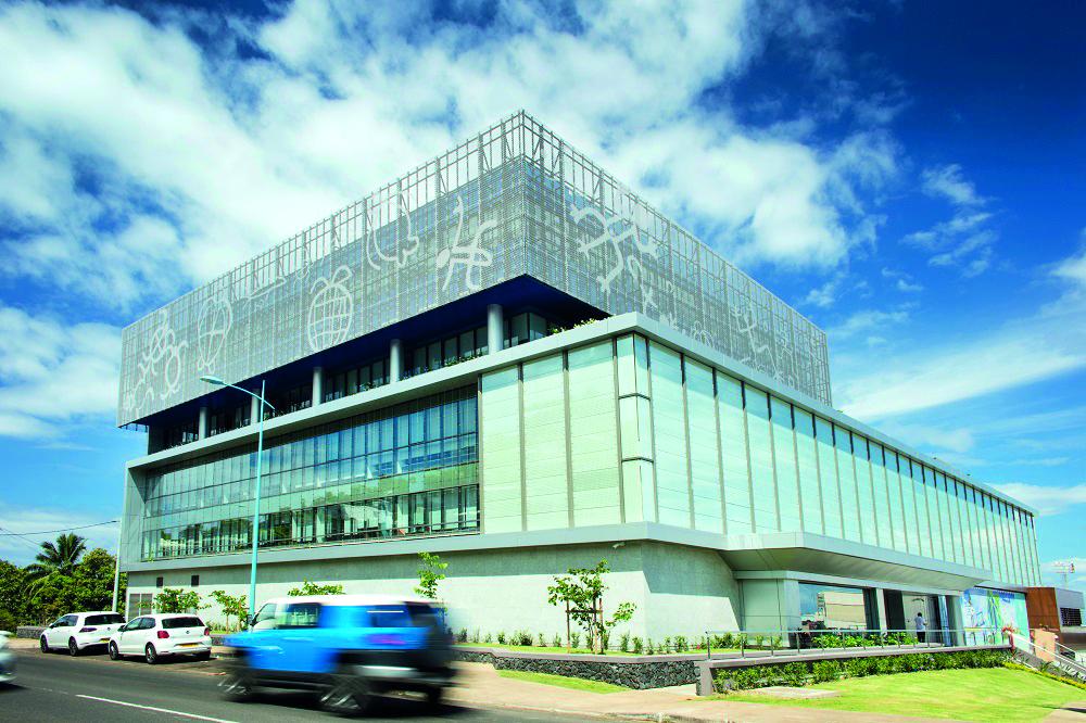 Le siège de la compagnie aérienne Air Tahiti Nui à Faa'a.