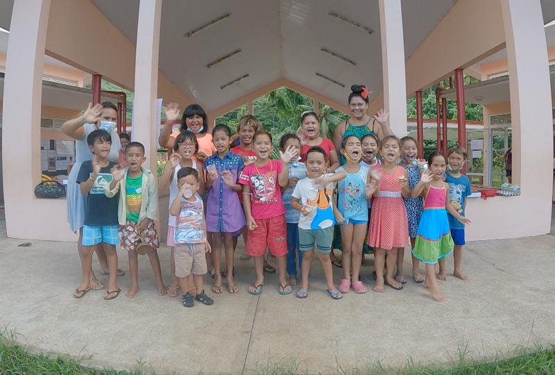 Vacances studieuses à l'école Puohine de Raiatea