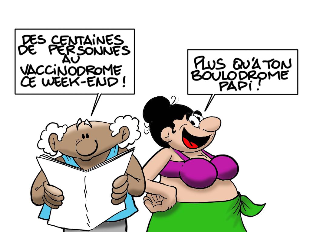 """""""Il y a foule"""", par Munoz"""