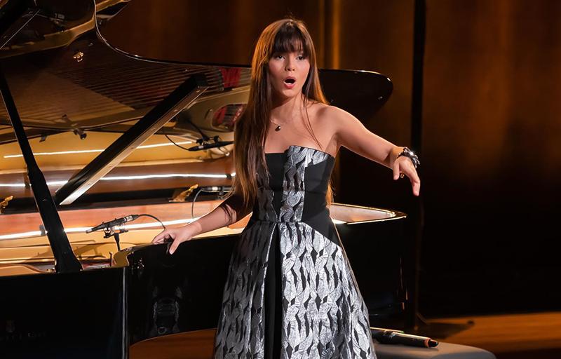 Tinalei a représenté la Polynésie française lors de la grande finale nationale de la troisième édition du concours des Voix des Outremers en janvier dernier.