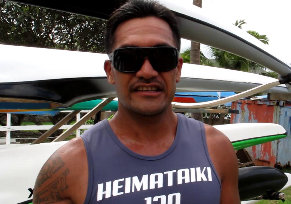 Raphael Ah Scha vainqueur de la deuxième journée du championnat V1 de Nuku Hiva.