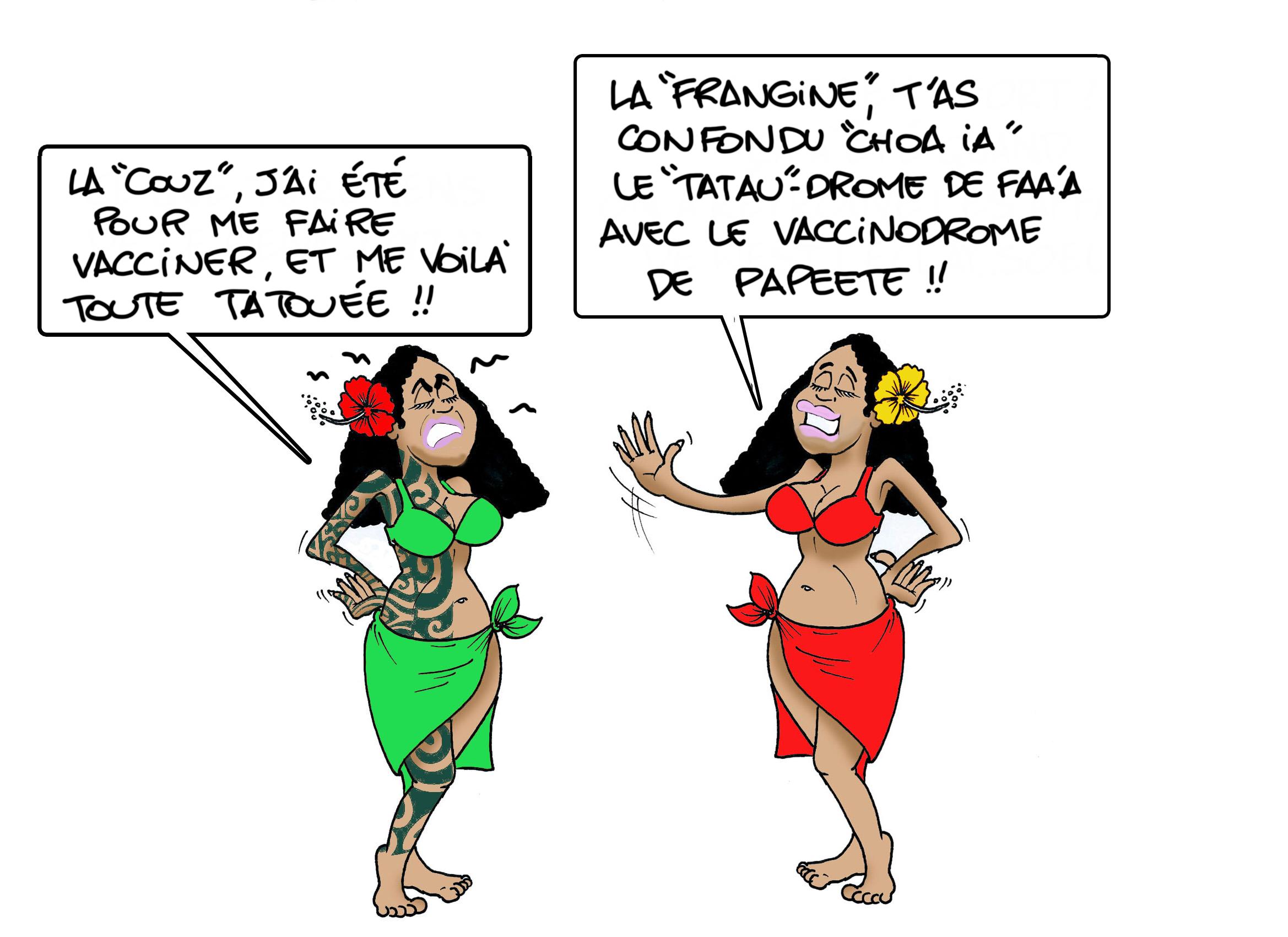 """""""Tatau-drome"""", par Munoz"""