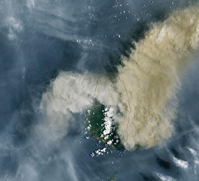 Saint-Vincent: longue crise en perspective avec possible extension à d'autres îles, prévient l'ONU
