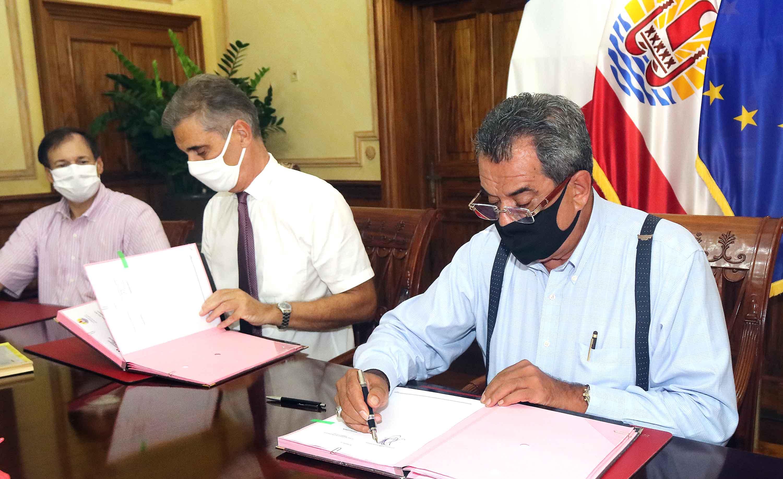 Signature du 3e volet du plan France Relance