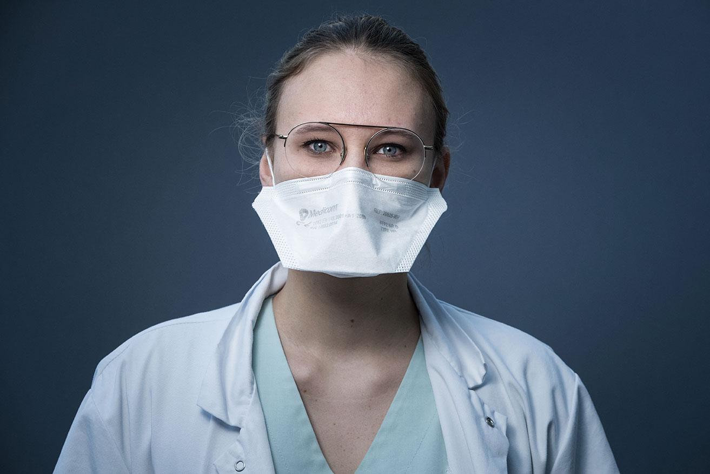 Covid-19: les internes en médecine s'usent à petit feu