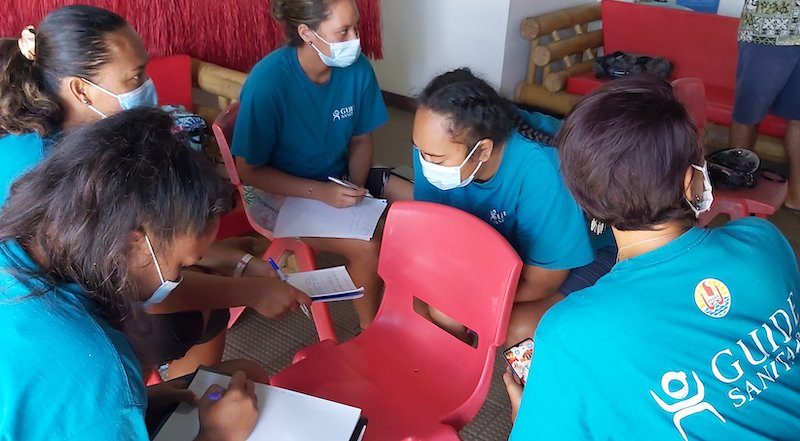 Les guides sanitaires de Bora Bora dans les starting-blocks