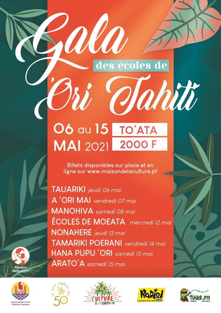 'Ori Tahiti, huit galas à To'ata