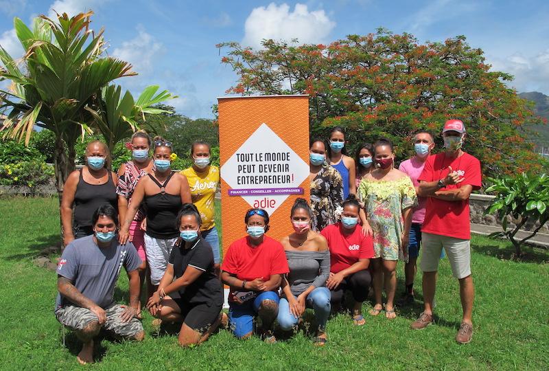 Cette semaine, entrepreneurs et porteurs de projets ont pu rencontrer les membres de l'Adie à Nuku Hiva.
