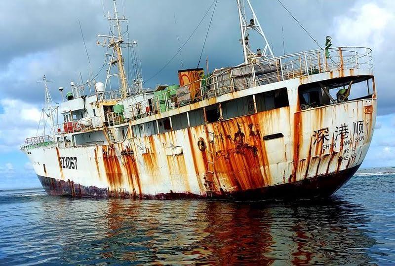 Shen Gang Shun 1, le navire toxique