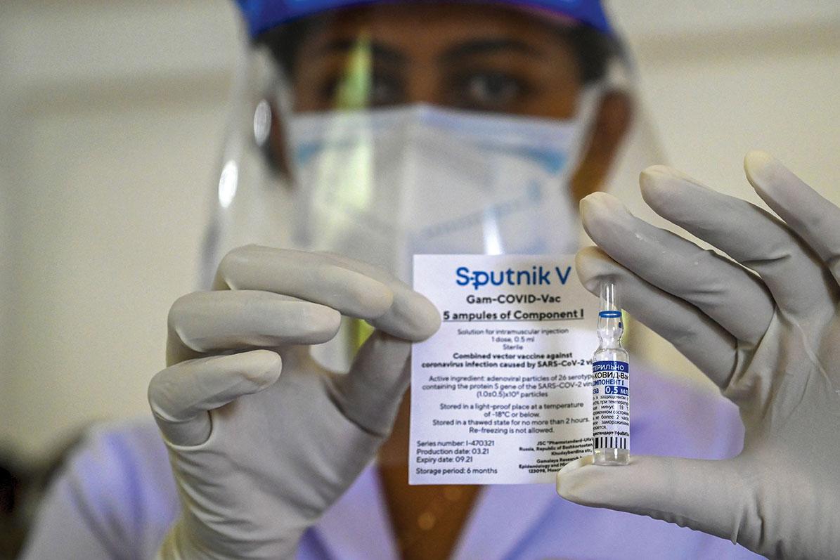 La Russie homologue le Spoutnik Light, son vaccin contre le Covid-19 en une dose