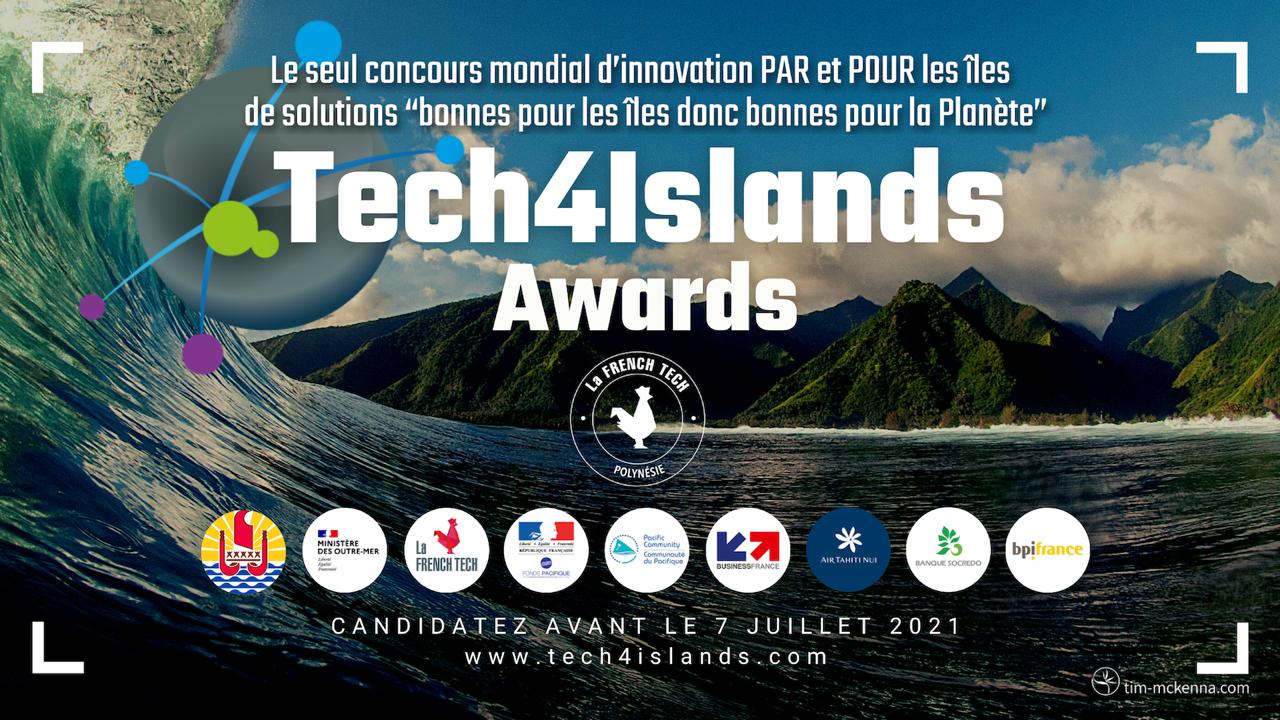 Deux ministres pour le lancement du concours international polynésien Tech4Islands Awards 2021