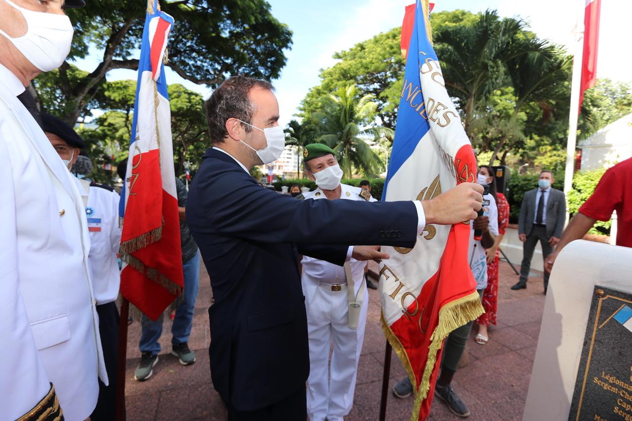 La cérémonie du 8 mai présidée par le ministre des Outre-mer