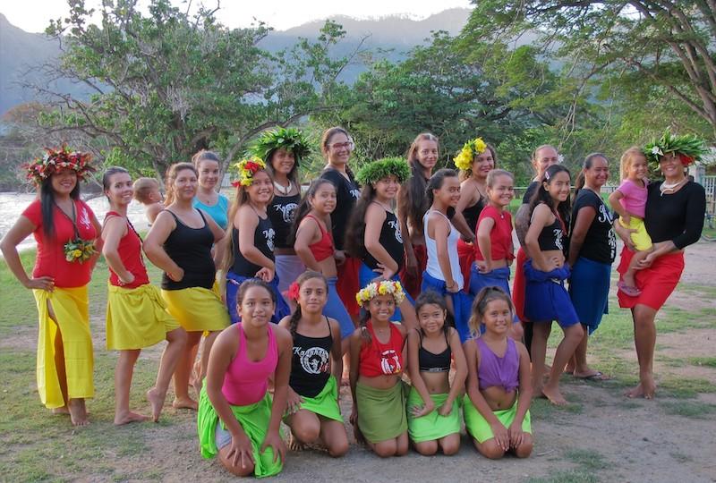 Après six mois d'existence, l'école Kanahau Ori compte déjà 45 danseuses.