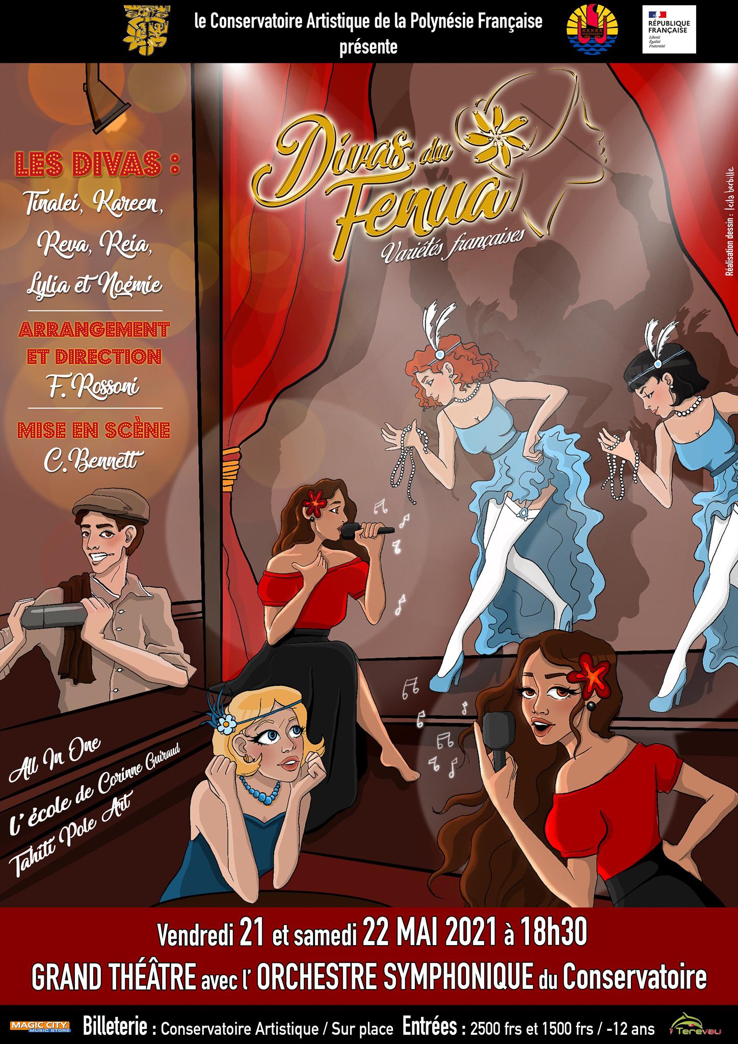 """""""Les Divas du fenua"""" donnent de la voix"""