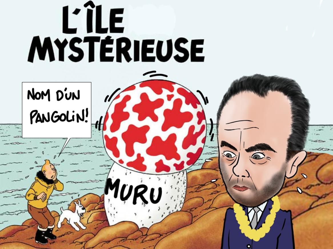 """""""Lecornu en terre inconnue"""", Par Munoz"""