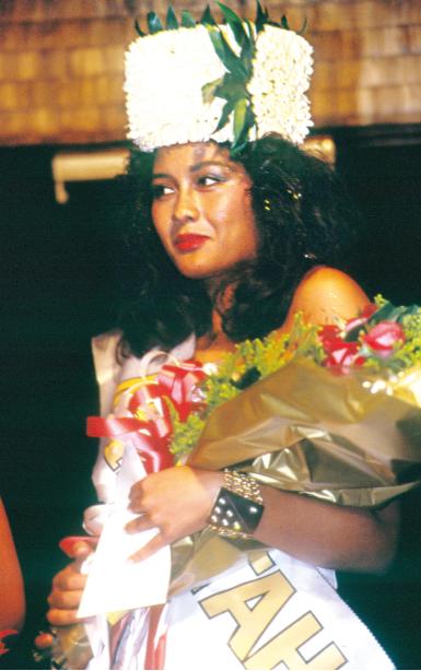 Myriam Tuheiava, Miss Tahiti 1989