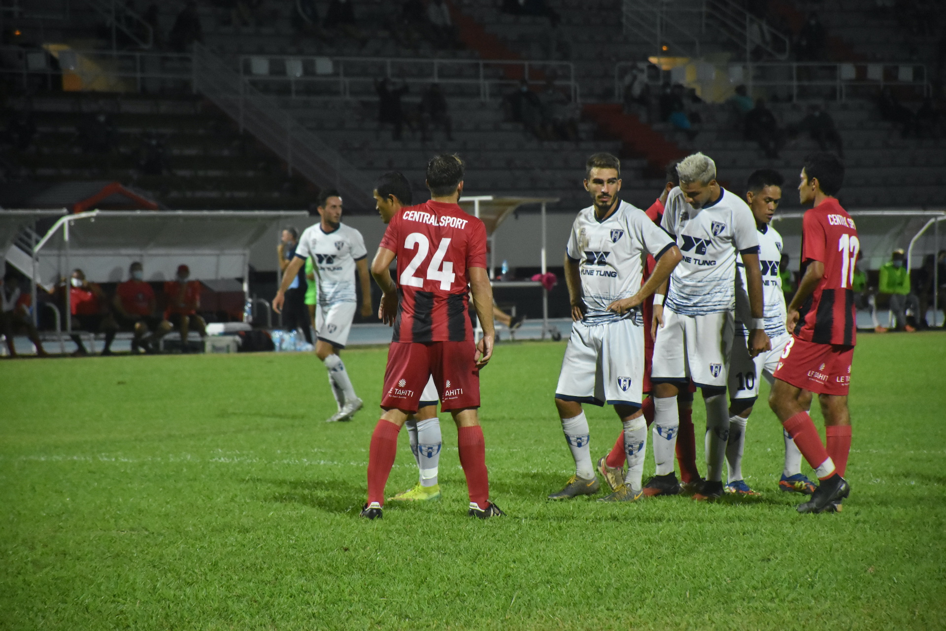 Les protégés de Samuel Garcia ont livré une prestation sérieuse face à Central.
