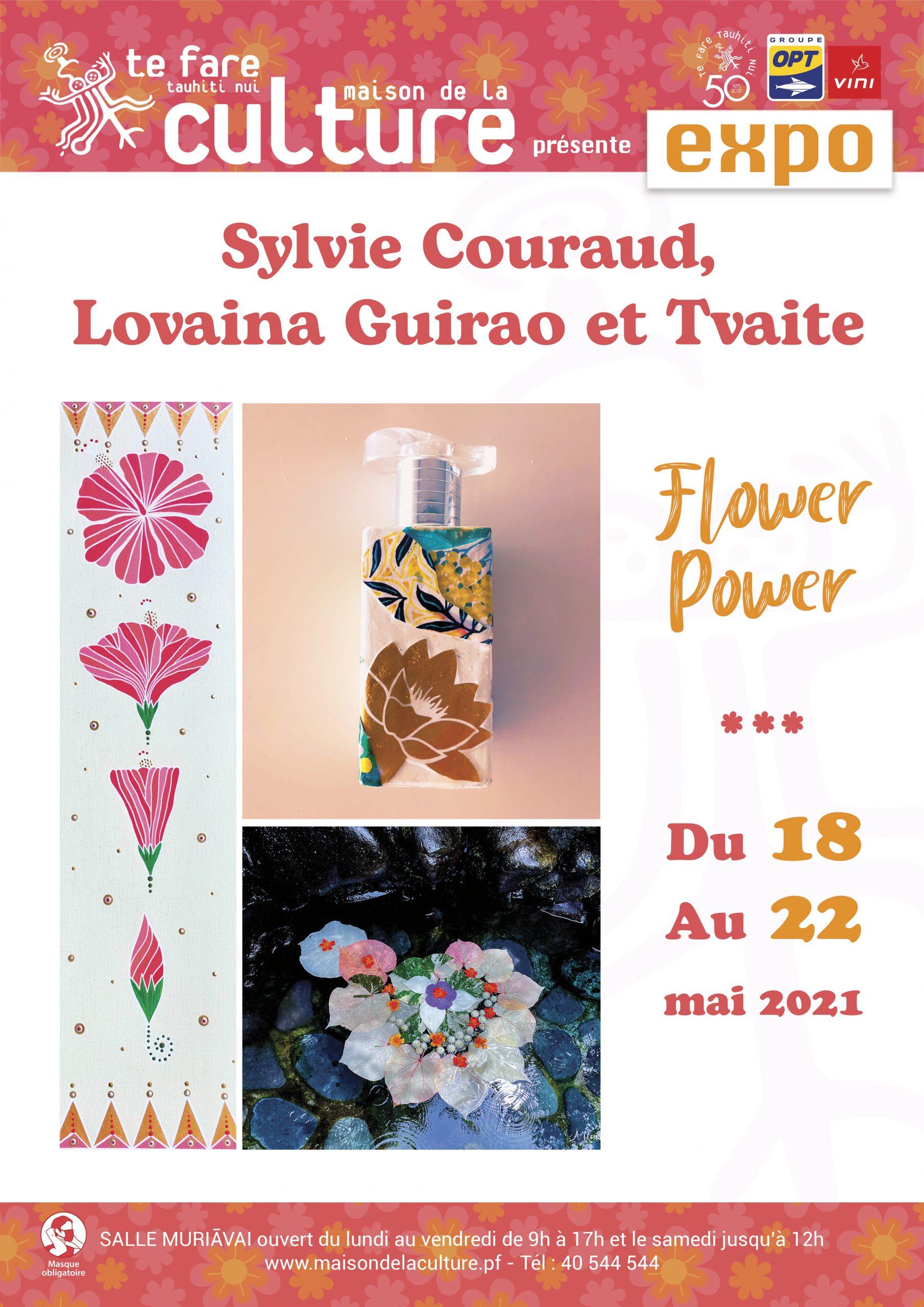 """Un bol d'air fleuri avec l'exposition """"Flower power"""" salle Muriāvai"""