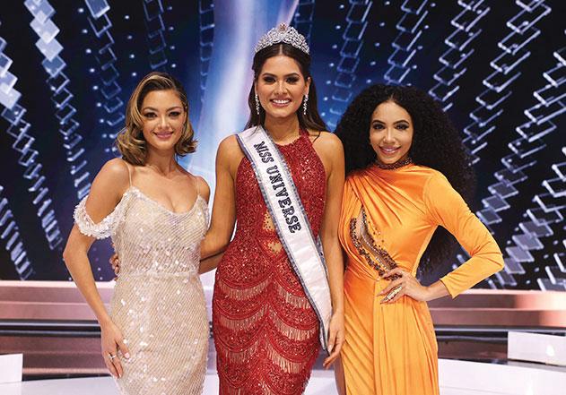 Miss Mexique couronnée Miss Univers 2021