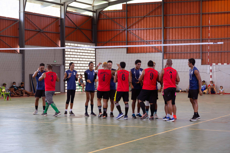 Le volley-ball a été la discipline qui a rassemblé le plus d'athlètes pour cette édition de la Vakaiki.