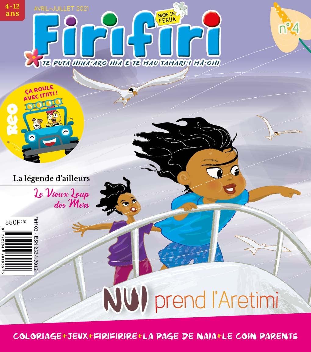 Page enfant : Un atelier pour découvrir Firifiri, le magazine des tout-petits
