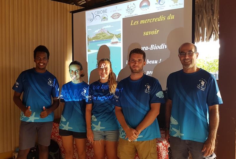 Une fois par mois, le Criobe présente une conférence dans le cadre des Mercredis du savoir et du programme Bora-Biodiv.