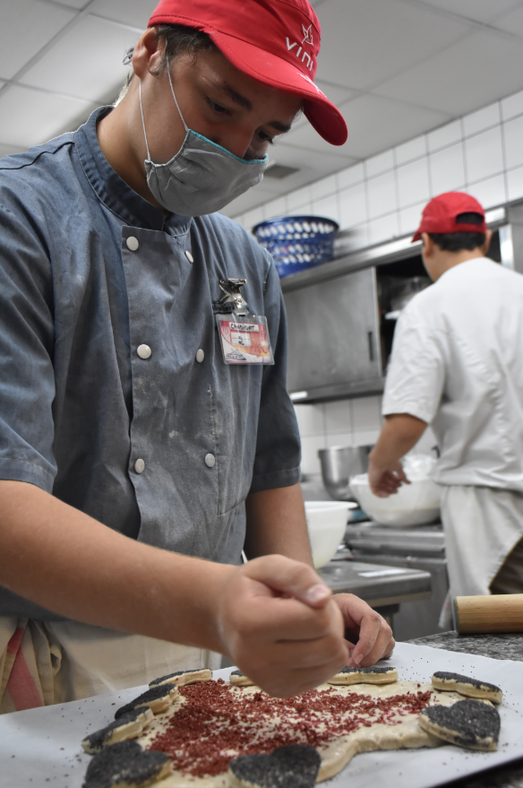 Trois boulangers pétris d'avenir