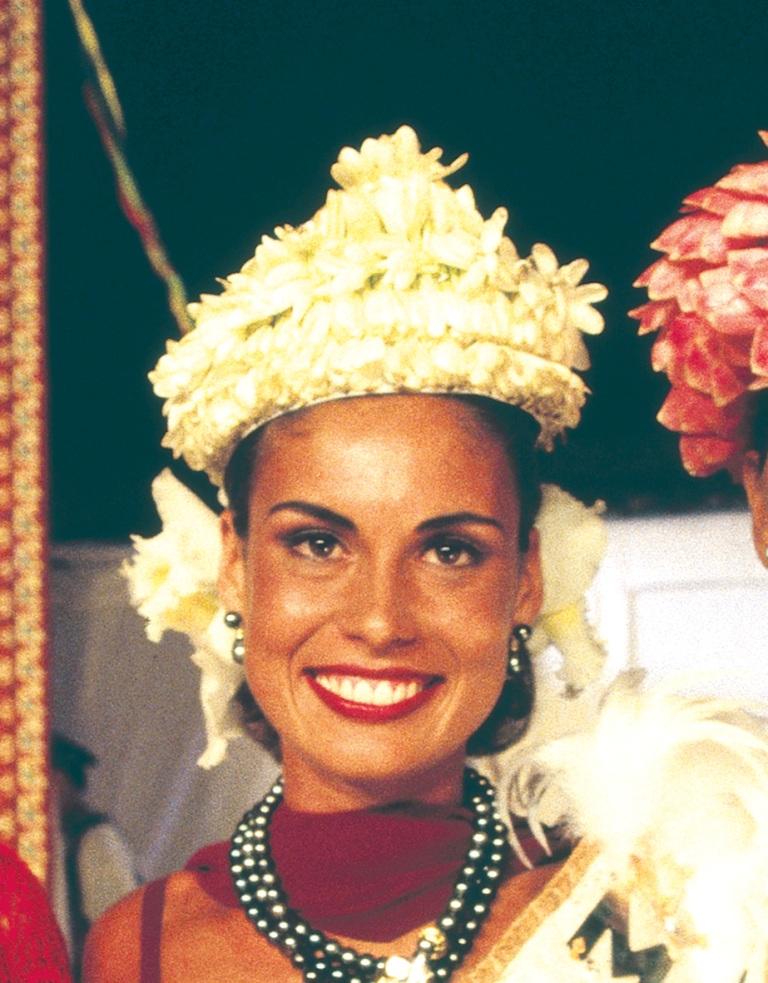 Timeri Baudry, miss Tahiti 1995