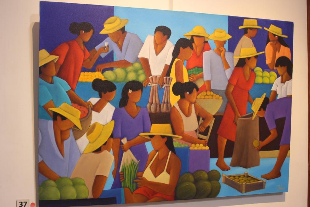 Philippe Dubois, fidèle peintre de la galerie des Tropiques