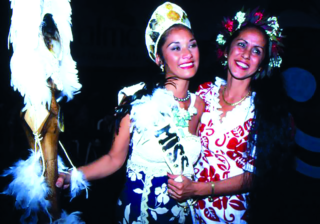 Hinano Teanotoga, Miss Tahiti 1997