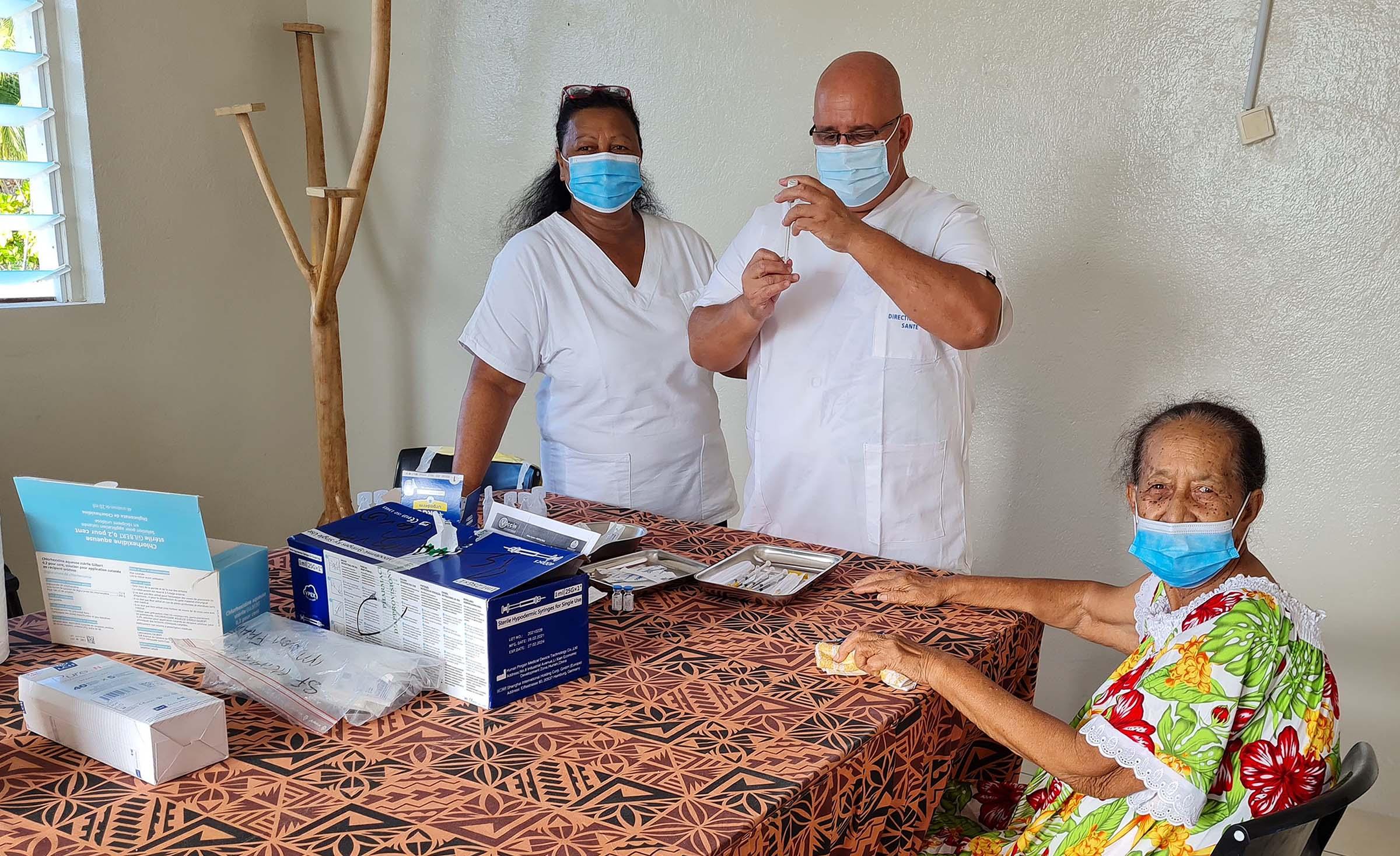 La vaccination s'organise dans les Tuamotu