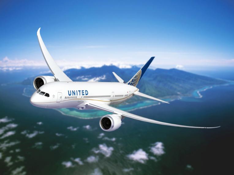 United Airlines de retour le 3 juin