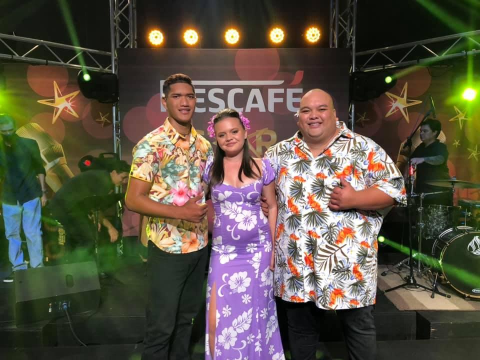 Les six finalistes de Nescafé Star au complet