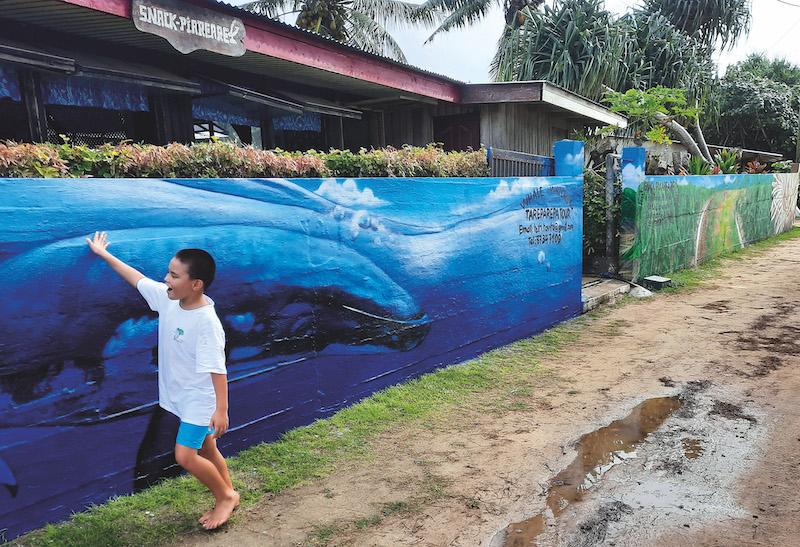 Street art et traditions à Rurutu