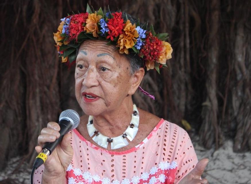 Janine Ara Maru, grande figure du 'ori tahiti.