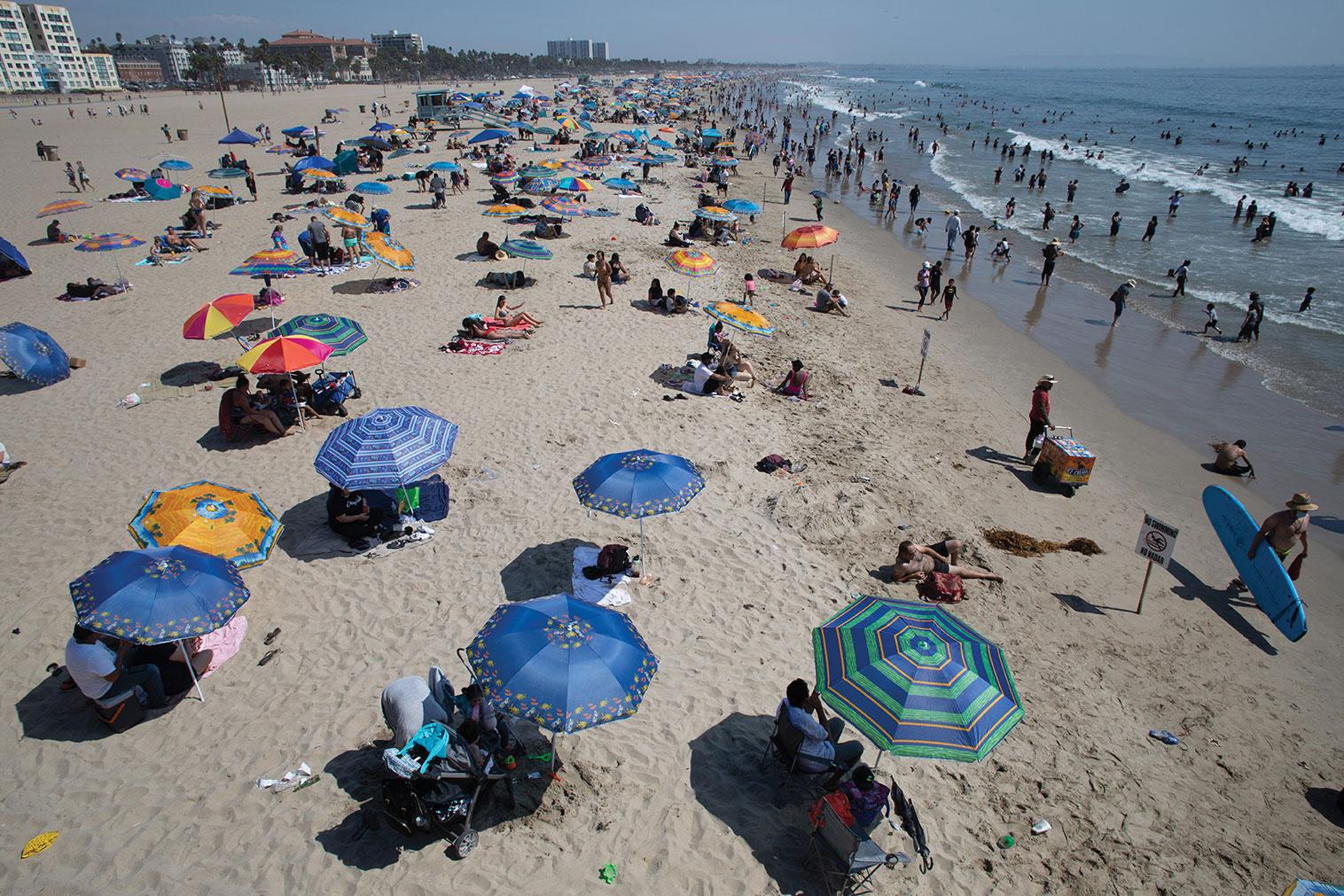 Canicules: plus du tiers des décès attribuables au réchauffement