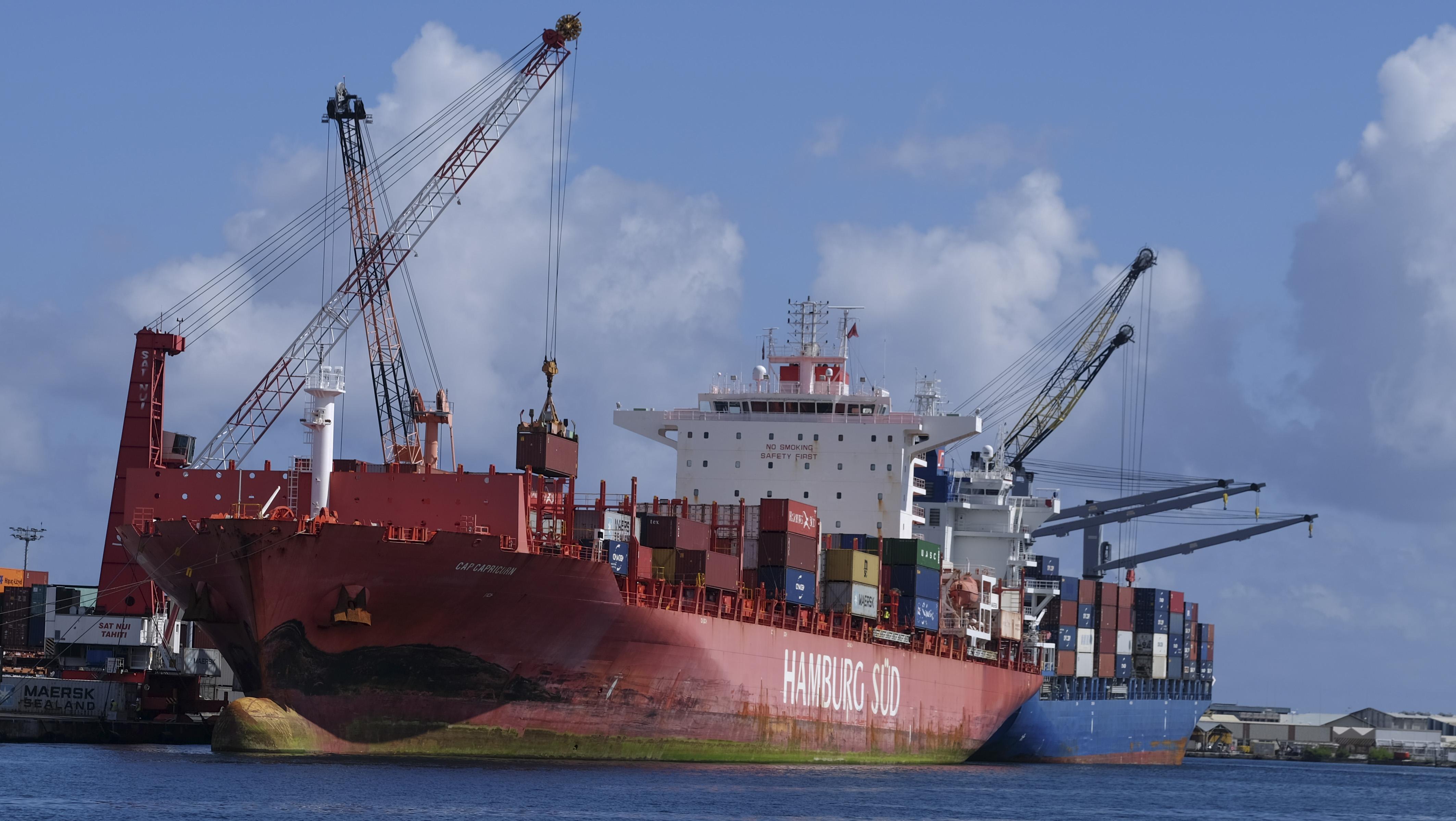"""L'augmentation du transport maritime n'est pas encore à l'origine d'un phénomène inflationniste. Sur 12 mois, l'ISPF mesure fin mai une hausse des prix des produits de consommation de """"moins de 1%""""."""