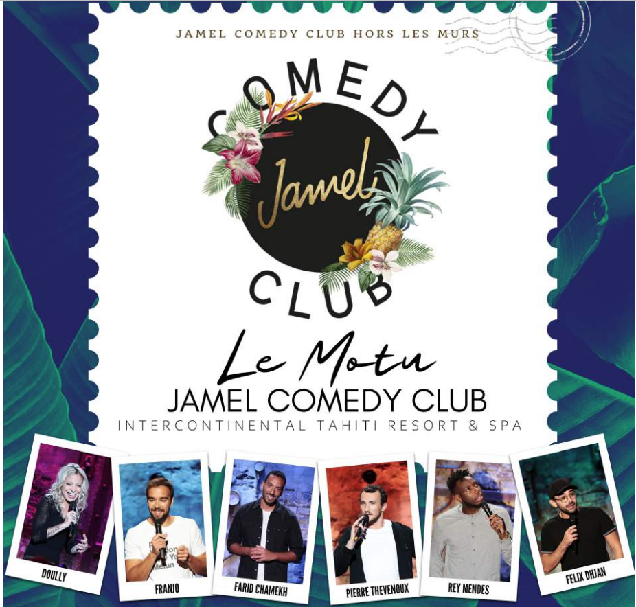 Le Jamel Comedy Club débarque au fenua